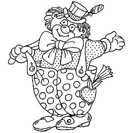 Dessin clown cirque a colorier dessin colorier et dessin - Photo de clown a imprimer ...