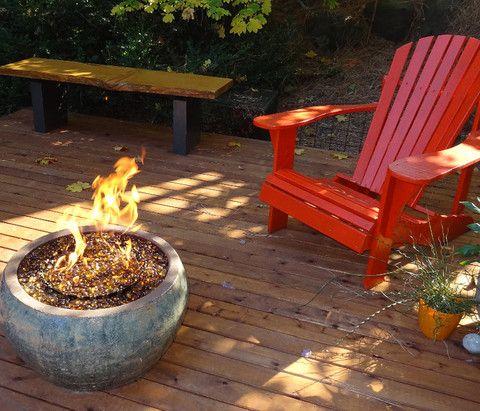 campfire in a can flower pot diy | Diy backyard