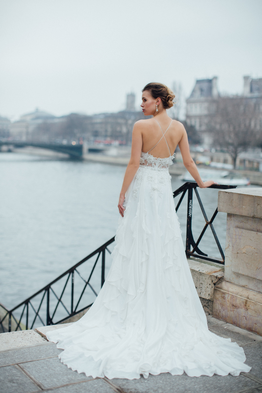 Backless Wedding Dress. #backlessweddingdress #backlessdress ...