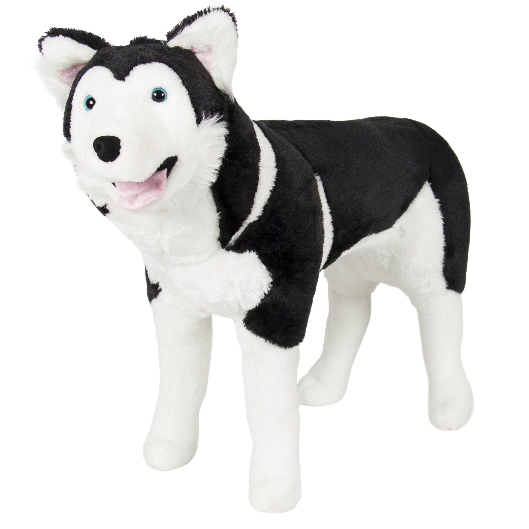 Large Husky Dog Plush Animal Realistic Soft Stuffed Toy Pillow Pet Wolf Realistic Stuffed Animals Plush Stuffed Animals Pet Wolf [ 2048 x 2048 Pixel ]