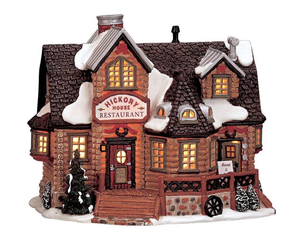 Hickory House Restaurant in 2020 Christmas villages