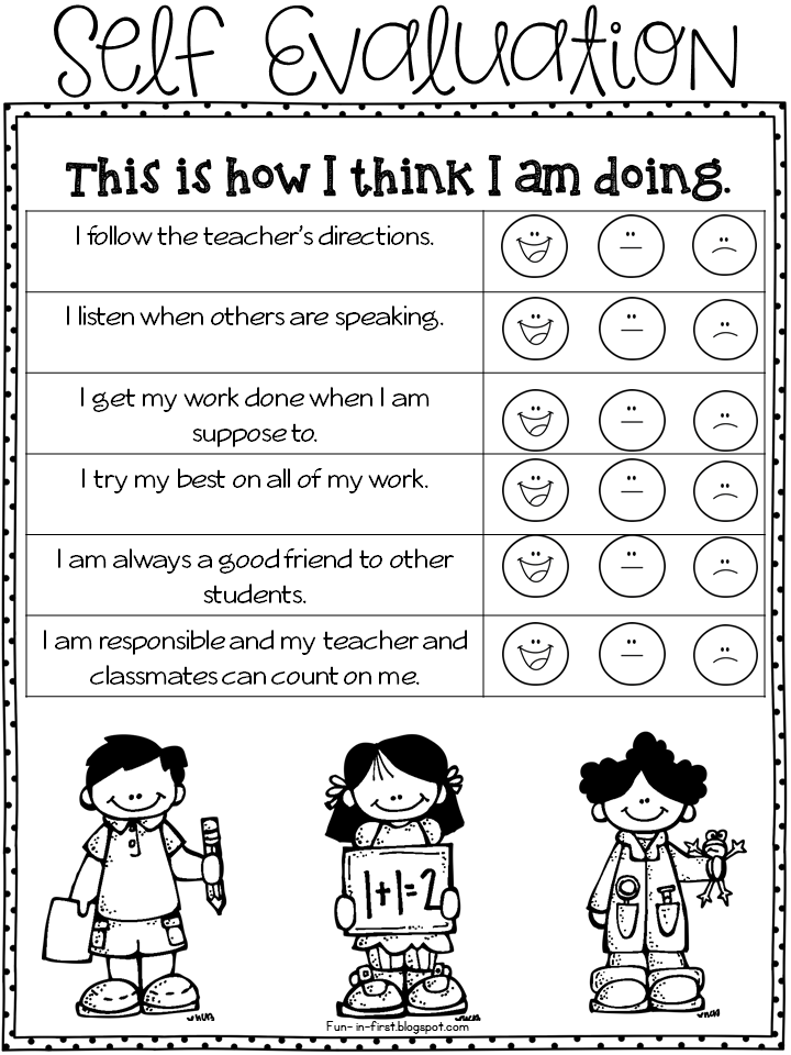 7 free assessment resources for pre k to 1st grade first grade
