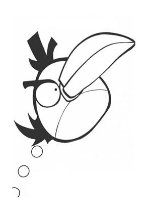 ausmalbild angry birds 6 | angry birds, ausmalen, ausmalbild