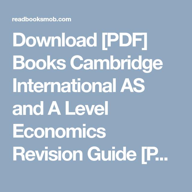 Free ebook download economics international