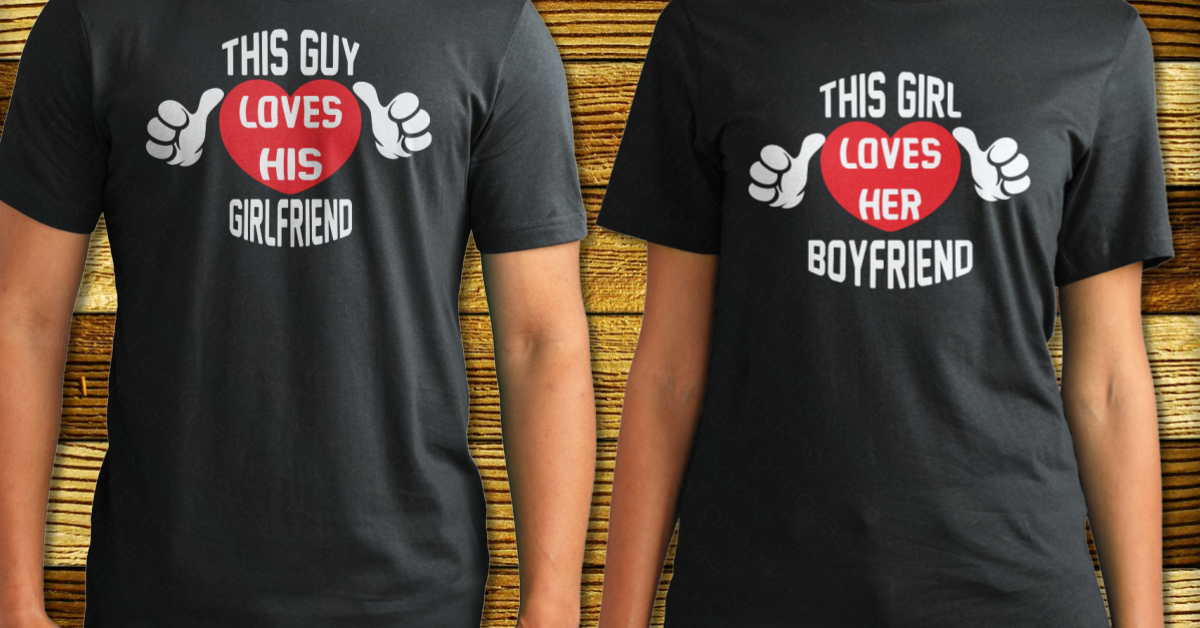 Valentines Day Shirts 2017 This Guy Loves His Girlfriend Products