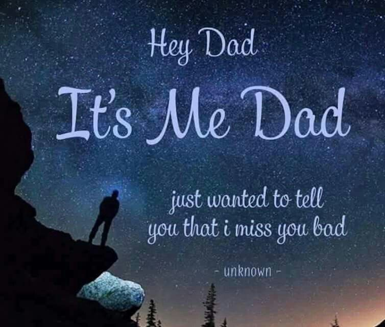 Dad (I Miss Him Too)