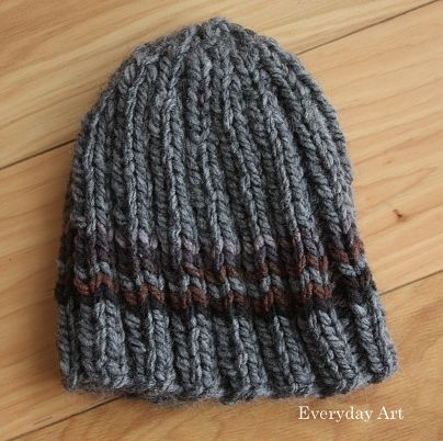 Mens Knit Beanie By Everyday Art Great Simple Mens Knit Hat
