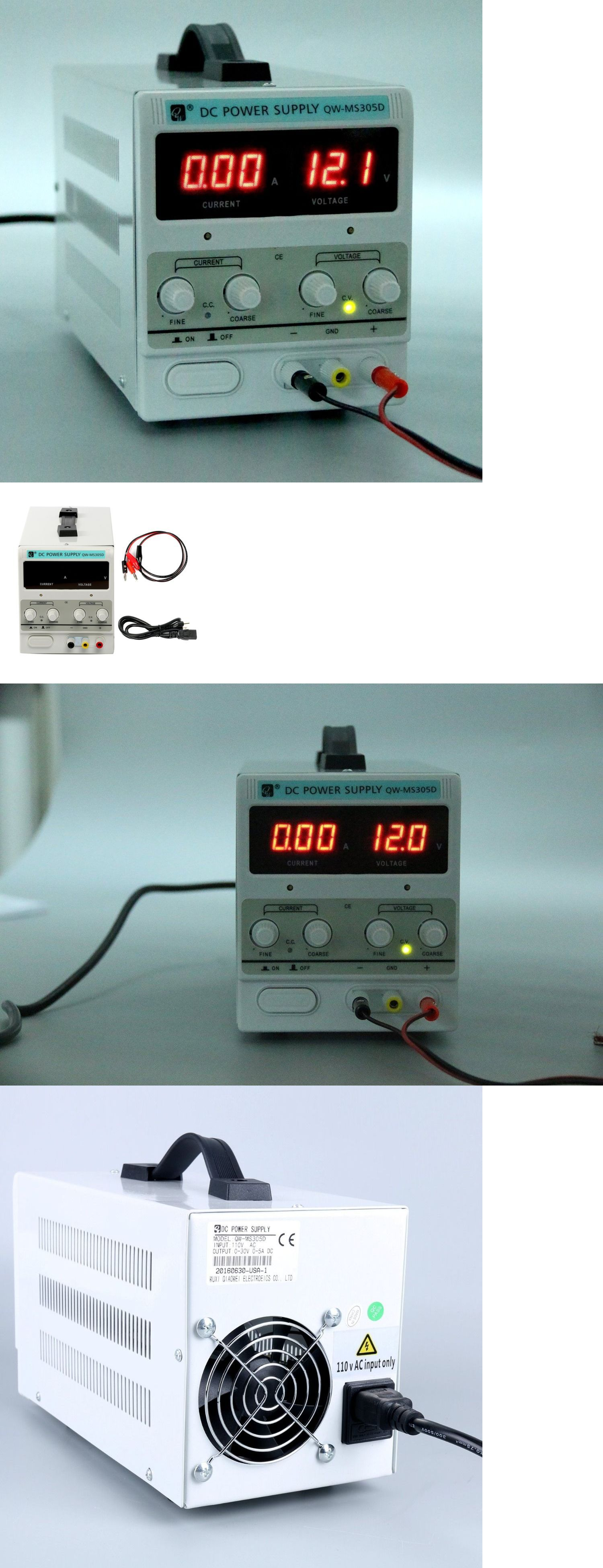 Power Supplies Variable Linear Adjustable Lab Dc Bench Supply 0 30v