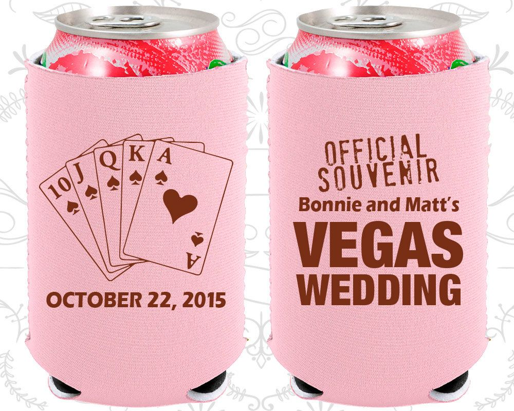 Las Vegas Wedding, Neoprene Wedding, Official Souvenir Vegas Wedding ...