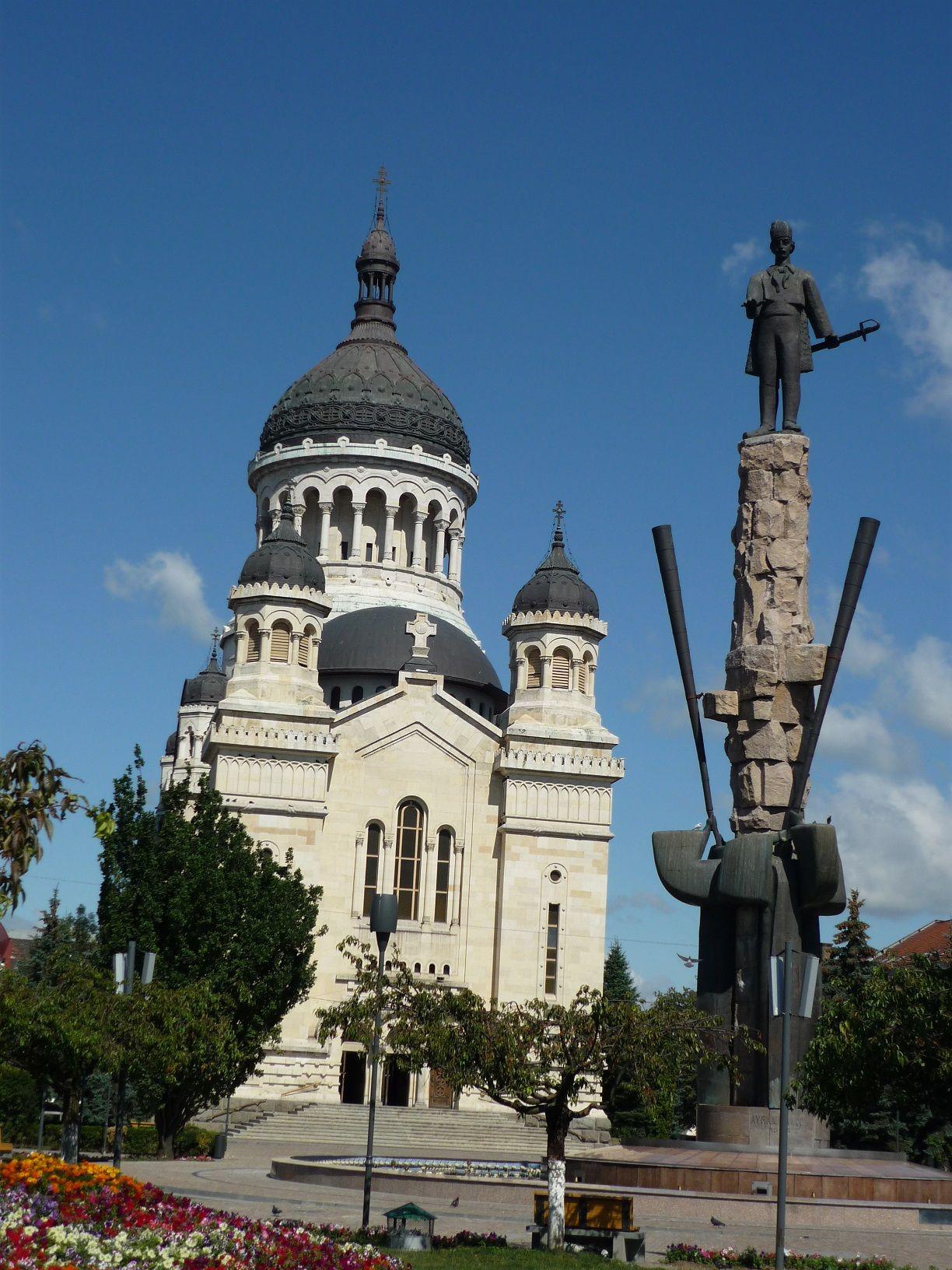 L'église orthodoxe de Cluj-Napoca, Roumanie