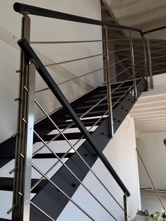 Costruiamo scale e parapetti in ferro, acciaio, corten ed altri ...