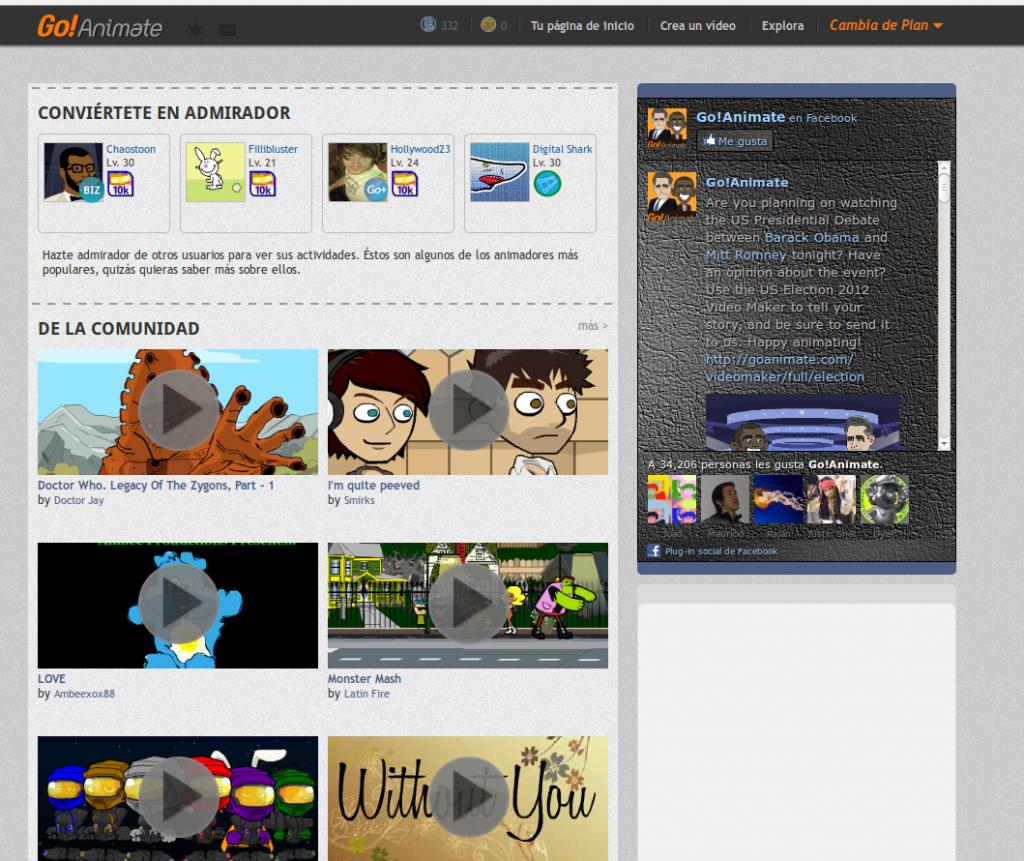 Con GoAnimate puedes hacer increíbles vídeos animados - Maestro de la Computacion