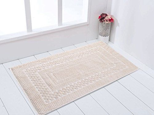 Gold Case 100 Cotton Bathroom Mats Towel Fabric 16x2440x60cm Made In Turkey Beige Be Sure To Check Out This Awe Target Bath Rug Target Rug Bath Rugs Sets