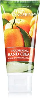 Fresh Tangerines Nourishing Hand Cream Soap Sanitizer