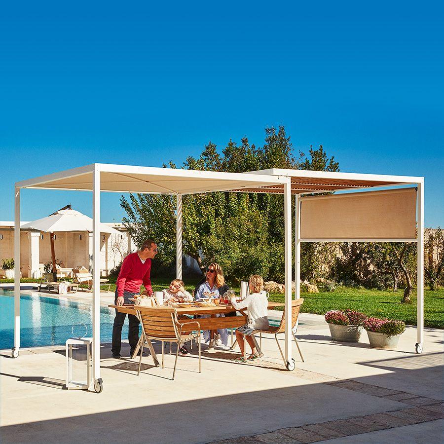 Gartenmobel Und Balkonmobel Unopiu Sonnenschirm Terassenideen