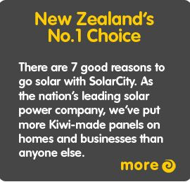 SolarCity - Solar Power and Hot Water NZ |