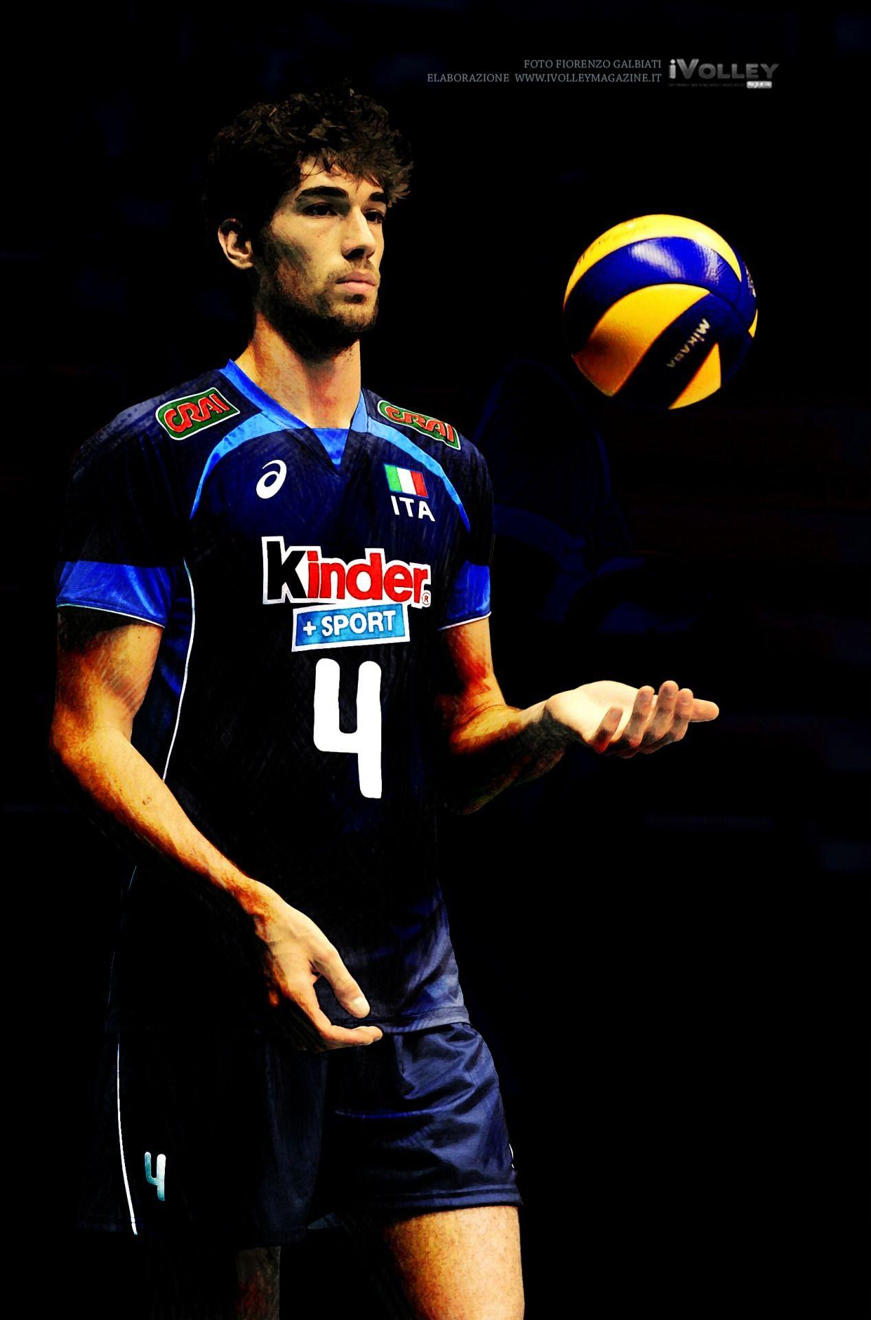 Luca Vettori In Italian National Team Pallavolo