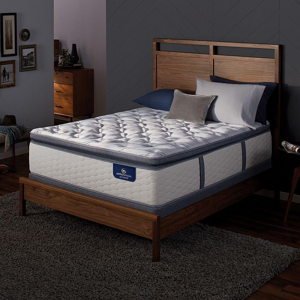 Serta Redbridge Super Pillow Top Firm Mattress & Box