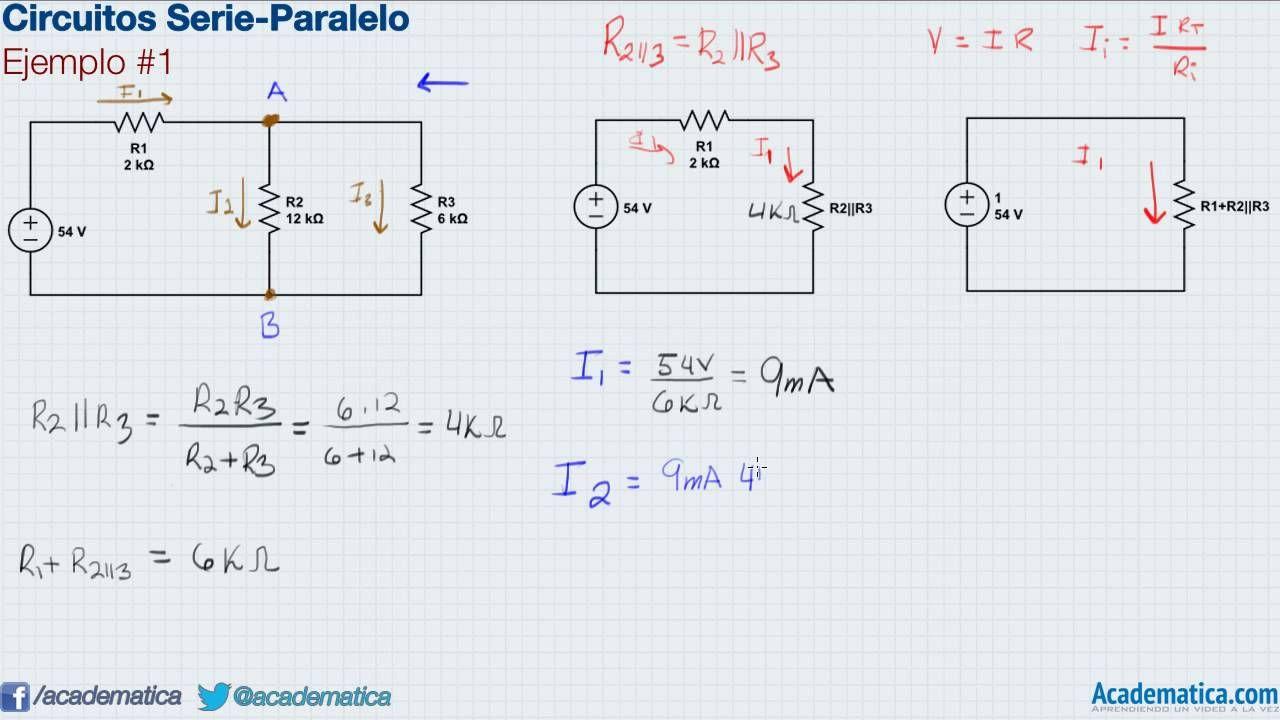Circuito Paralelo : Circuitos serie paralelo ❖ ejemplo fisica students