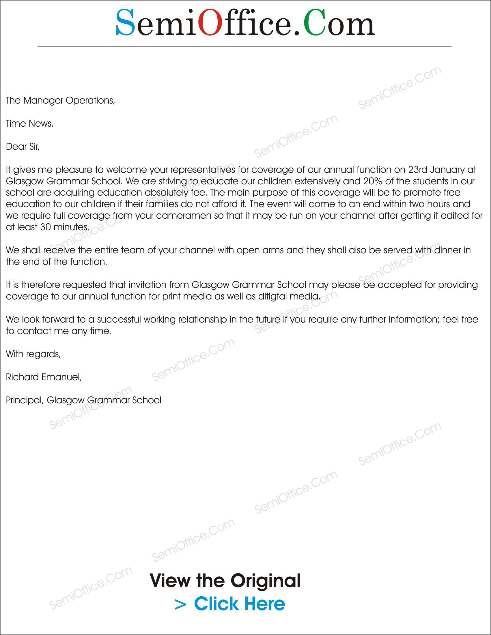 product launch event invitation letter
