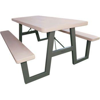 Lifetime 6 Folding Picnic Table Folding Picnic Table Picnic