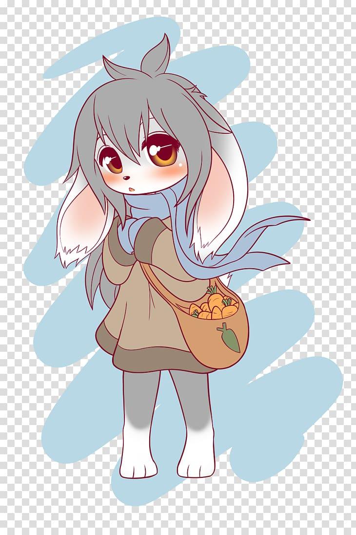 Furry Fandom Anime Rabbit Art Baby Girl Transparent Anime Furry Furry Art Bunny Art