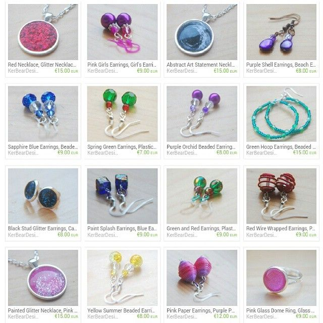 """""""Use PADDYSDAY2015 for 20% off - only available until Sunday the 22nd of March! #etsyshop #etsy #etsyseller #jewellery #crafts #creative #offer #specialoffer #coupon"""""""