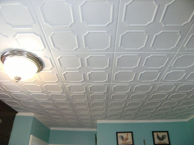 How To Install Decorative Ceiling Tiles Kitchen After Installing Decorative Ceiling Tilesawesome For