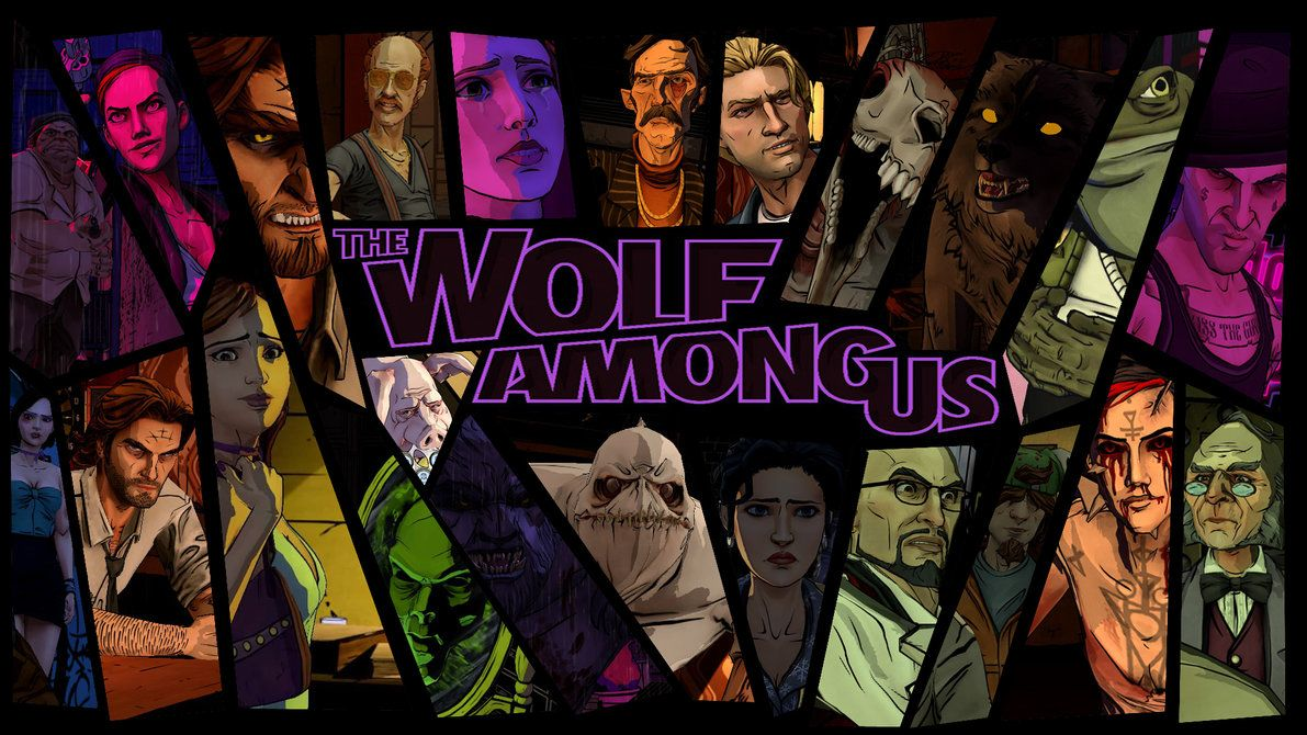The Wolf Among Us Characters Background By Aleco247 On Deviantart The Wolf Among Us Wolf Night In The Wood