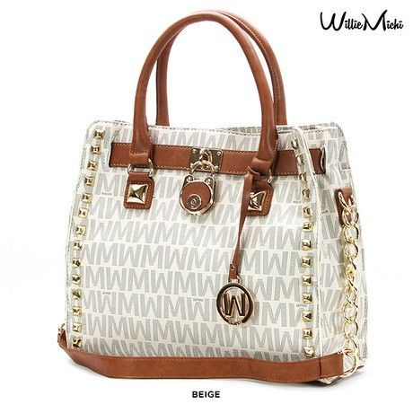 Willie Michi Amour Mignon Wynn Classic Tote - Assorted Colors at 87% Savings off Retail!