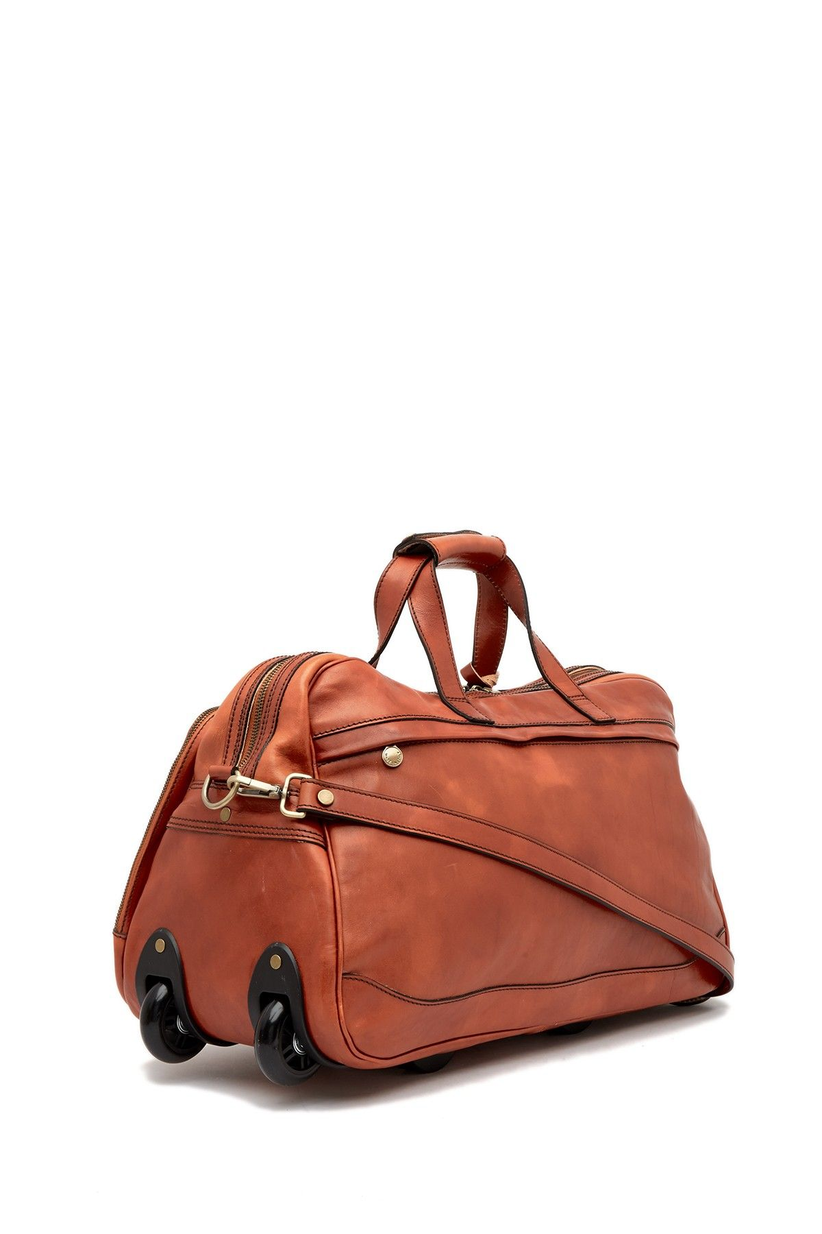 7c9b66011e Rolling Leather Duffel Bag by Persaman New York on  nordstrom rack