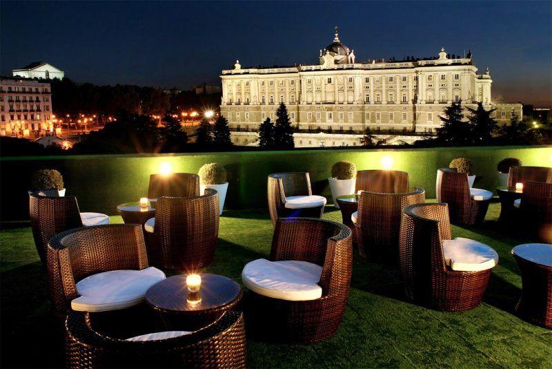 Los Restaurantes Con Vistas En Madrid Mas Espectaculares I Terrazas Madrid Terrazas Vistas