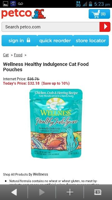 Wellness Healthy Indulgence Cat Food Pouches Food Pouch Healthy Food
