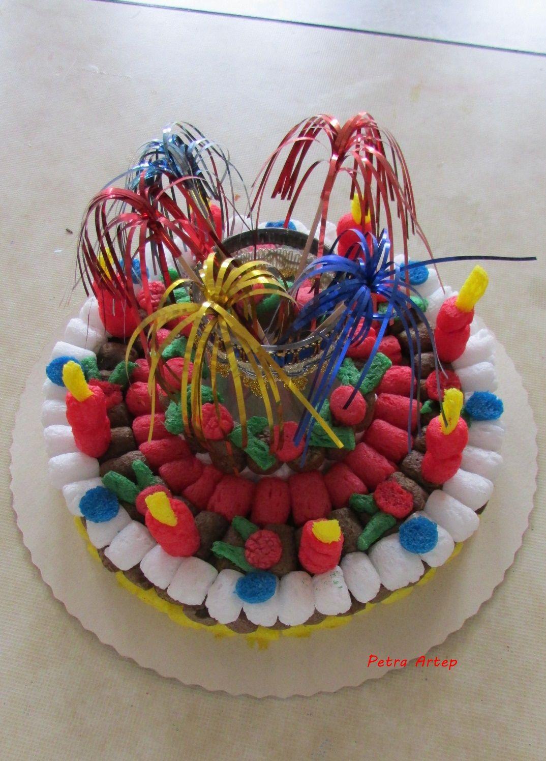 Torte aus Playmais