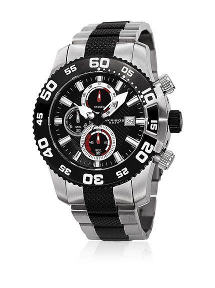 15eda2b86e56 Akribos XXIV Reloj con movimiento cuarzo japonés Man 49 mm en Amazon BuyVIP