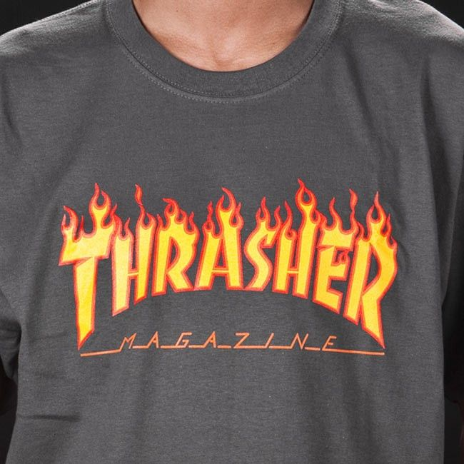 09600d56207 Thrasher Magazine Shop - Thrasher Magazine Flame Logo T-Shirt