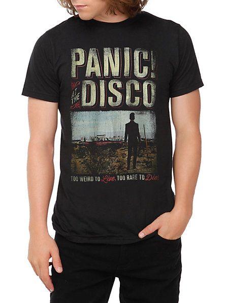 38e13b5d Panic! At The Disco Too Weird Desert T-Shirt   Hot topic   Shirts ...