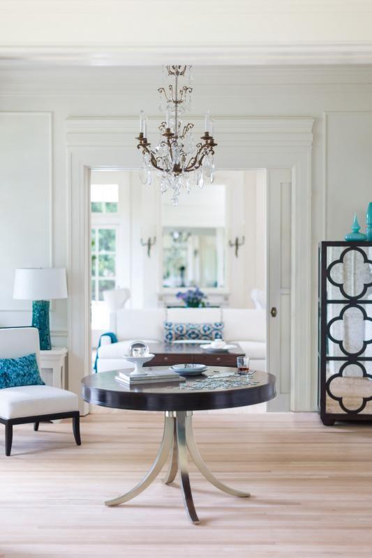 Haven Josh Holden Kingston Living Room | Bernhardt | Blue & green ...