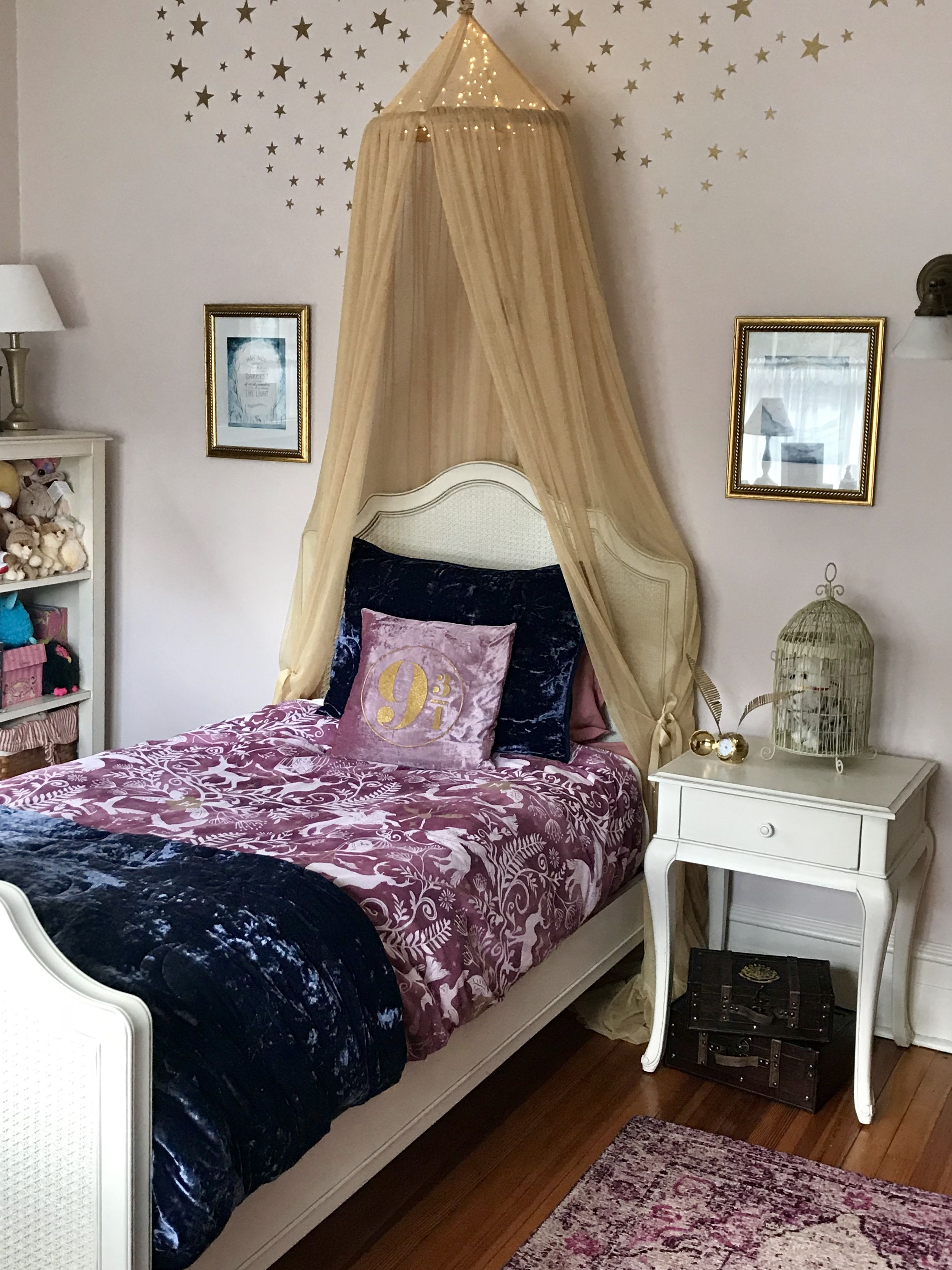 Girl S Magical Harry Potter Bedroom Fit For Hermione Paint