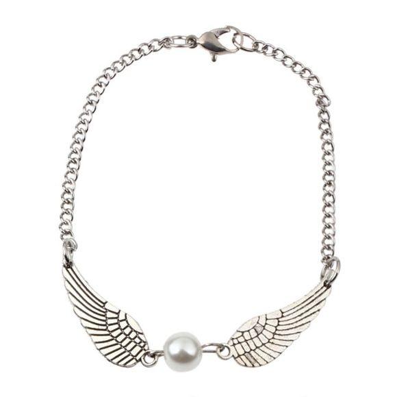 Pearl wings bracelet Nice pearl wings silver bracelet new in package Jewelry Bracelets