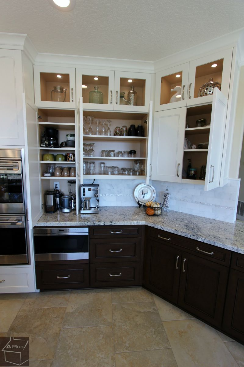 transitional #kitchen #remodel with #custom #cabinets in yorba linda