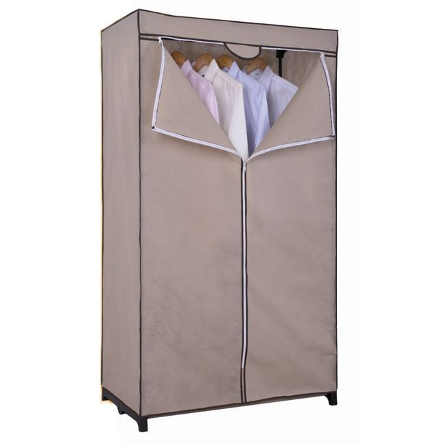 ATHome 36 Inch Portable Closet, Brown