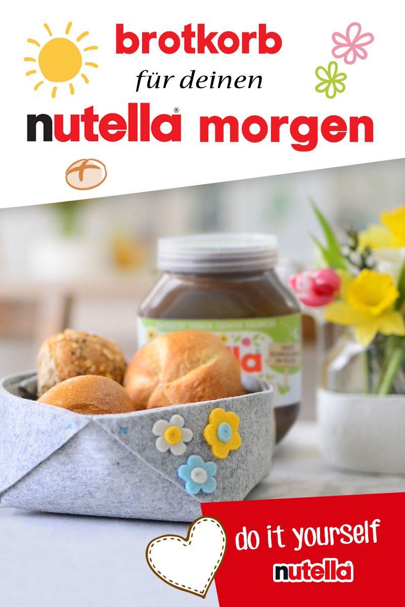Brotkorb für deinen nutella Morgen