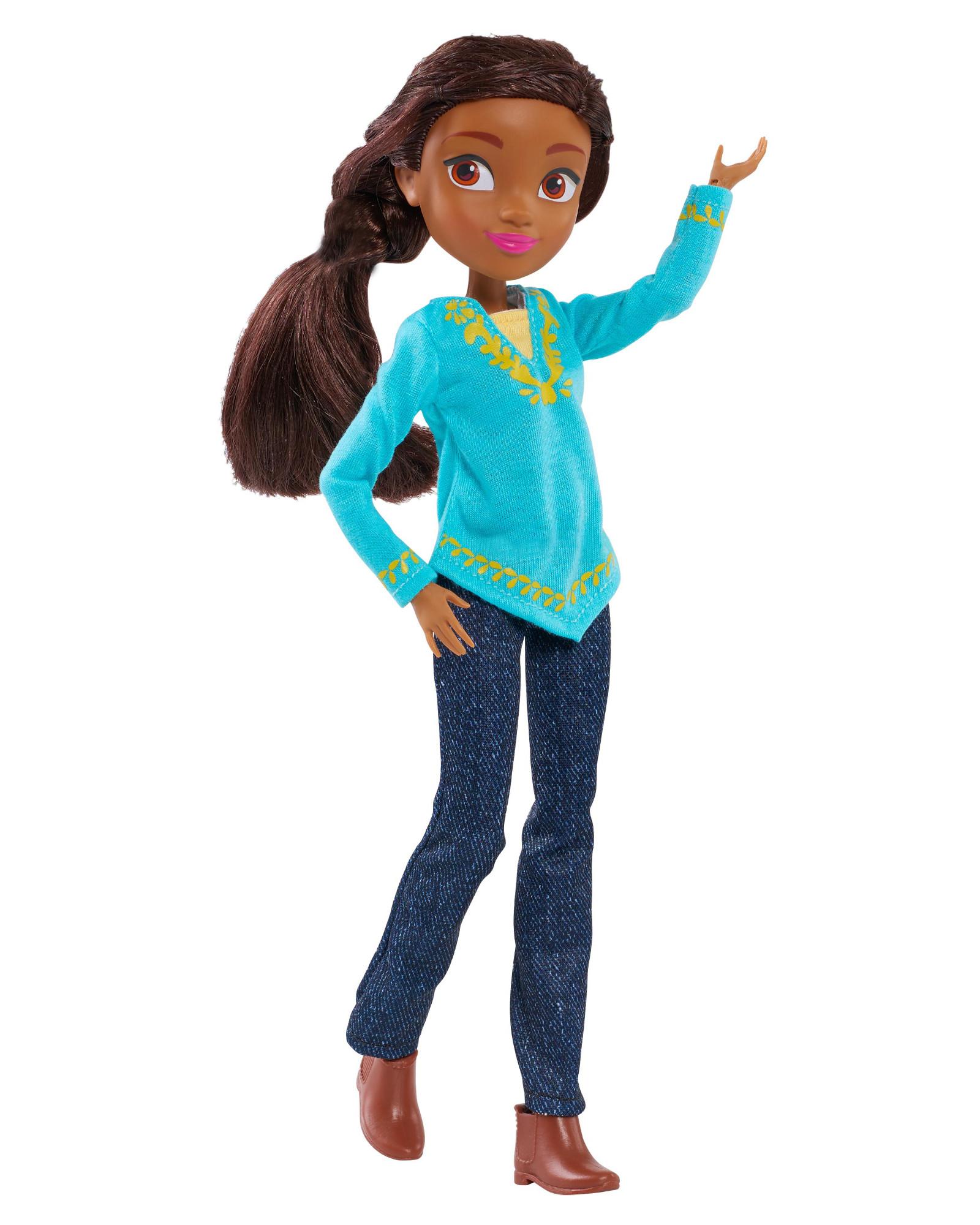 "Just Play Spirit Riding Free 11.5"" Fashion Doll Prudence"