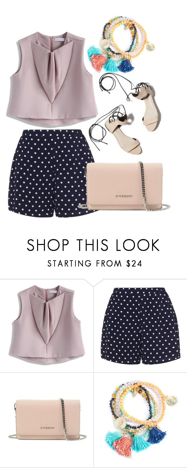 """walk"" by mia-lovefashion ❤ liked on Polyvore featuring Chicwish, Zizzi, 3.1 Phillip Lim and Givenchy"