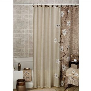Shower Curtain And Matching Window