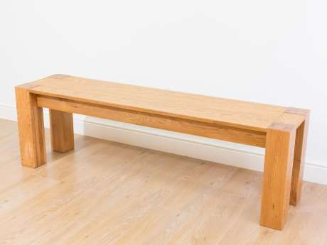 Cambridge 150cm Oak Dining Bench Spring Benches For Sale
