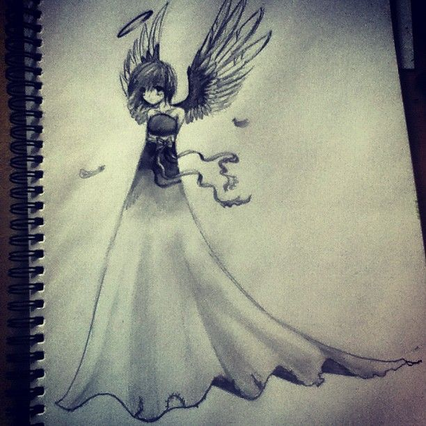 Anime Angel Anime Drawings Angel Drawing Drawings