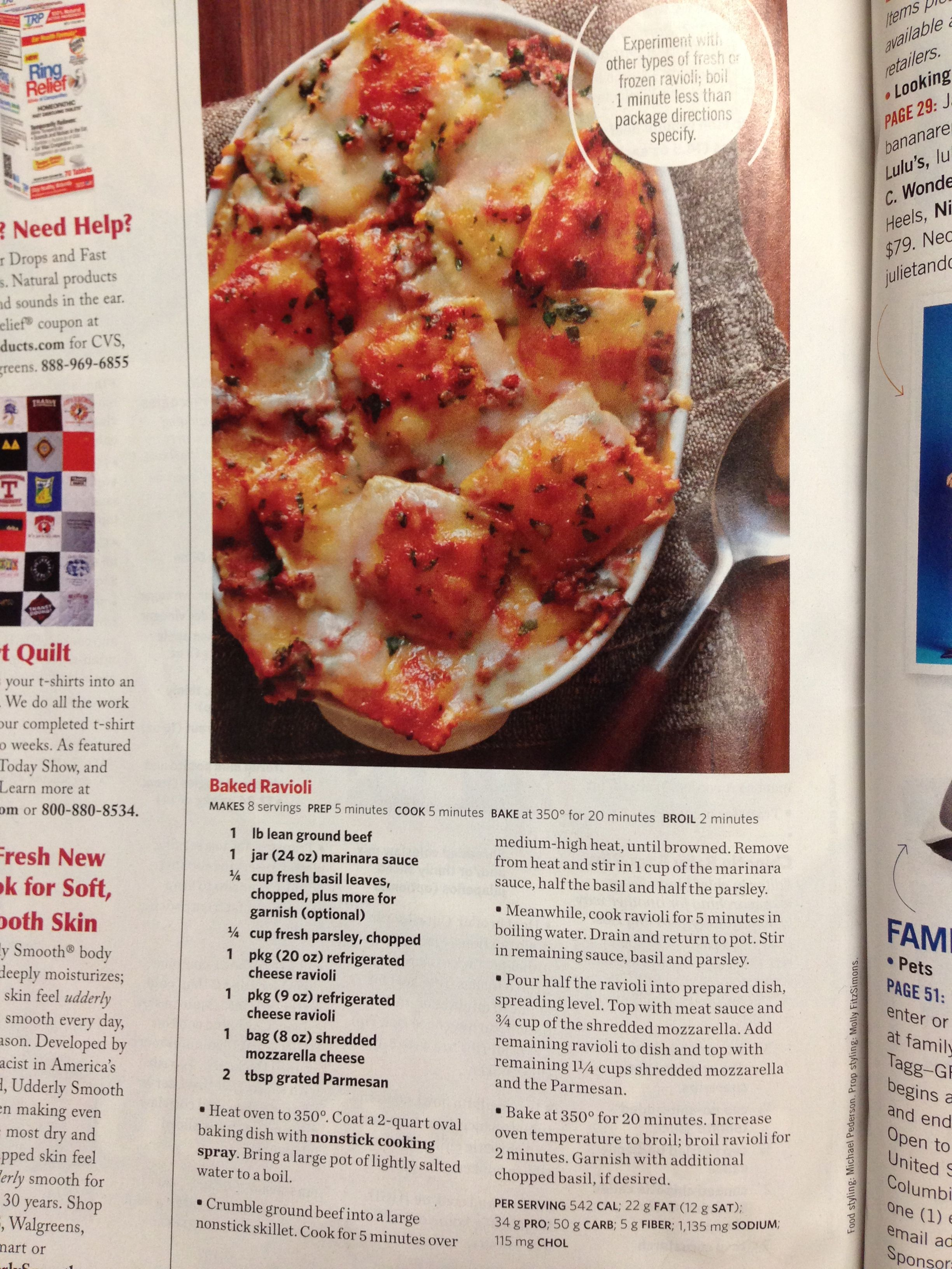 Pin By Alyssa Martinez On Recipes To Try Ravioli Bake Cooking Recipes Cooking Dinner