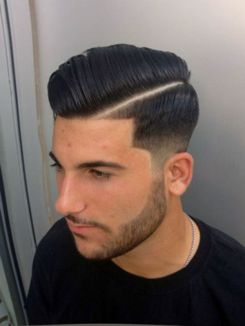 37++ Low taper comb over trends